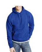 Royal Blue Pull Over Fleece Hoodie for Men