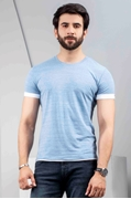 Mens Classic Crew Neck T-shirt Heather - IGNCH-B5