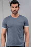 Mens Classic Crew Neck T-shirt Heather IGNCH-K4
