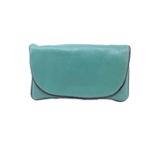 Buy Sea Green Sheep Leather Softy Women Pouch  online