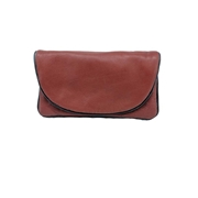 Brown Sheep Leather Softy Women Pouch