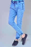 Mens Denim Jogger Pant - Jogger Random Wash