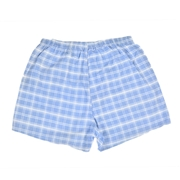 Light Blue checkered Boxer for Men