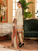 Buy Khas stores winter collection V:1 3 pcs unstitched suit KKH-14024  online
