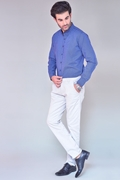 Pack Of 2 Navy Shirt With White Chino