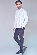 Pack Of 2 White Shirt With Black Chino