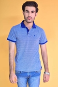 Pack Of 2 Mens Blue Classic Polo With Navy Chino