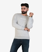 Pack Of 2 Mens French sweatshirt Grey With Machine Red Chino
