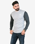 Pack Of 2 Mens Thermal Charcoal Grey With Tex Red Chino