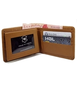 Men Rexine Mustard Wallet  W-9701