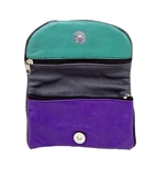 Buy  Multicoloured Sheep Leather Softy Pouch for Women   online