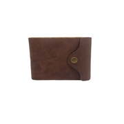 Vegetable Tanned Cow Leather Men Wallet