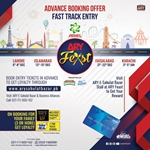 8th December 2019 ARYFeast Lahore Fast Track Entry
