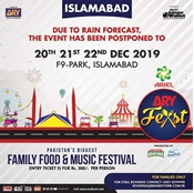 Buy 21st December 2019 ARYFeast Islamabad Fast Track Entry  online