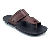 Brown Leather Slipper for Men