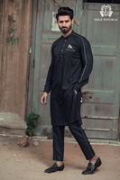 EDGE Stylish Design Kurta Shalwar for Men's - EDGE-102