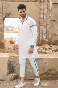 EDGE Stylish Design Kurta Shalwar for Men's - EDGE-101