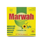 Marwah Cooking Oil 1ltr Pouch