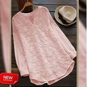New Arrival Cotton Top T-Pink for Women's  VT-1001