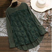 New Arrival Cotton Top Green for Women's  VT-1005