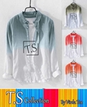 Men's dip dye Casual Shirts VRRD-21