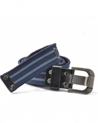 BLUE COTTON CANVAS BELT