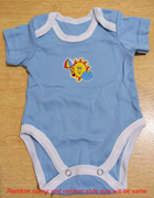 Wokstore Garments Romper with Short Sleeves for kids (Rompers028)