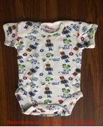 Wokstore Garments Romper with Short Sleeves for kids (Rompers044)