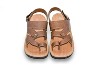Soft pattern sandal Brown OSP-09