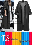 Ladies Denim Long Coat  VRRD-72