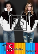 T.S New Arrival Unisex Hoodie Fleece stuff VRRD-75