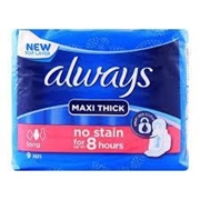 Always Maxi Thick long (9 Pads)