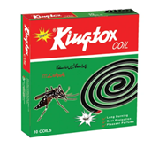 Kingtox Mosquito Coil Box - 10 Pieces