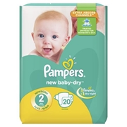Pamper 2 Mini 20 Diapers