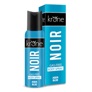 NOIR Gas Free Body Spray Aqua Blue - 125 ML