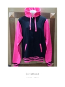 Pink Fleece Hoodie for Women