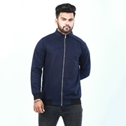 Blue versity jacket for men ABZ-3
