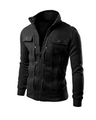 Buy Black Mexican jacket for Men with Front Pocket ABZ-24  online