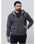 MEN HOODIES GREY EXPORT WS-04
