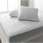 Quilted Mattress Protector - White - Double Bed MP-050