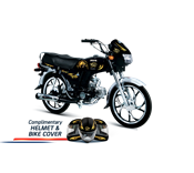 Buy NEW CITY MOTORCYCLE BLACK (SPECIAL EDITION) ECO 70CDI  online