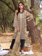 Khas 2 PIECE UNSTITCHED PRINTED LAWN SHIRT WITH LAWN DUPATTA RKL-1092