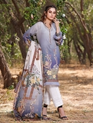 Khas 2 PIECE UNSTITCHED PRINTED LAWN SHIRT WITH LAWN DUPATTA RKL-1093