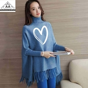 AA-Collections Printed Ladies Poncho AA-1079